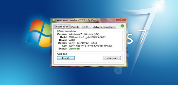 Activar y Validar Windows 7 Ultimate, Professional, Home