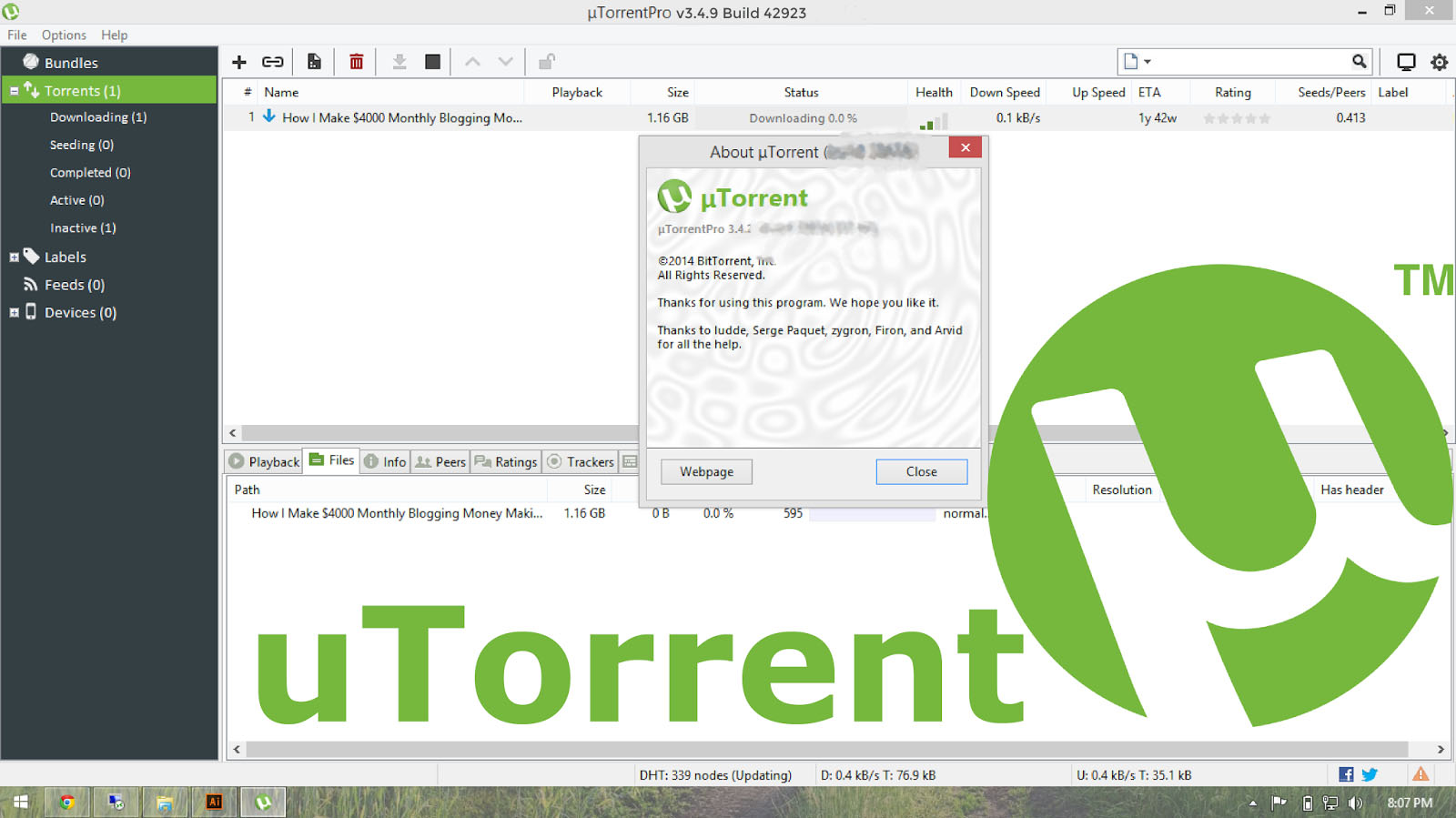 utorrent download uptodown pc