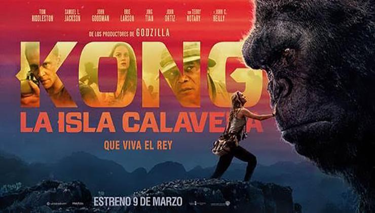 Kong La Isla Calavera 2017 Hd 720p 1080p Espa 241 Ol Latino