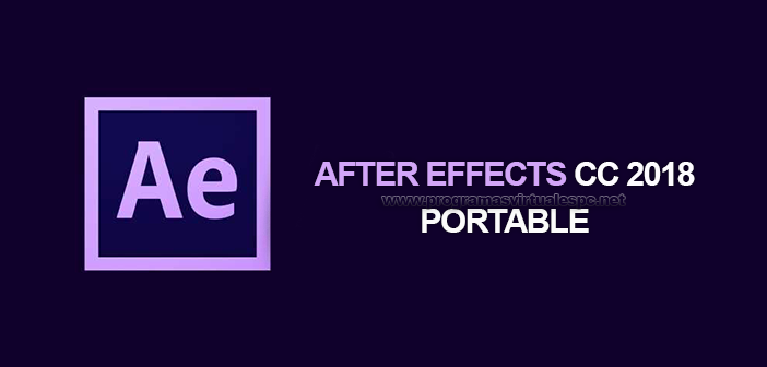 Descargar Adobe After Effects CC 2018 Portable