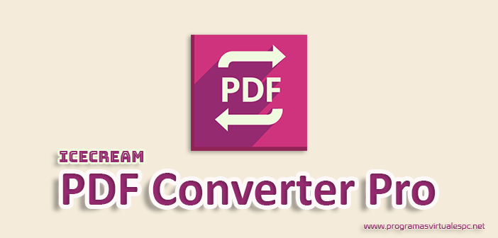 Icecream PDF Converter Pro Full