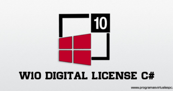 Windows 10 Digital License C# 2019 para activar windows 10 con licence digital Full