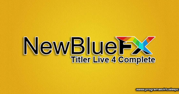 Descargar NewBlue Titler Live 4 Complete Full