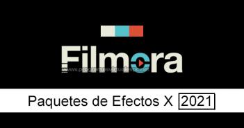 Descargar Packss de efectos Wondershare Filmora Full